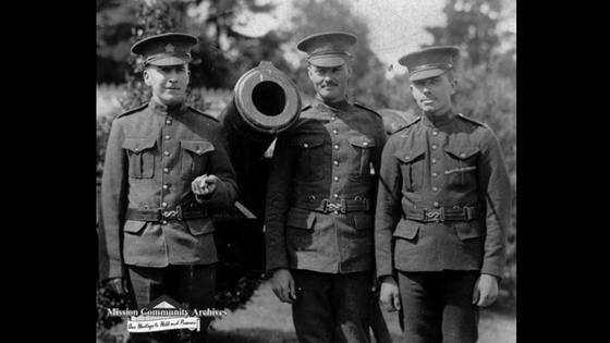 WWI Veterans, Mission Soldiers, BC Military